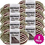 Bernat Plum Fields, Blanket Big Ball Yarn, Multipack of 8, 8 Pack