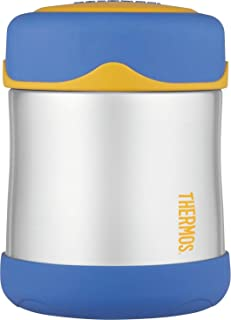 Thermos Foogo Insulated Stainless Steel Food Jar, 290 ml, Blue