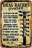 BIGYAK Drag Racers'S Prayer 20X30 cm Tin...