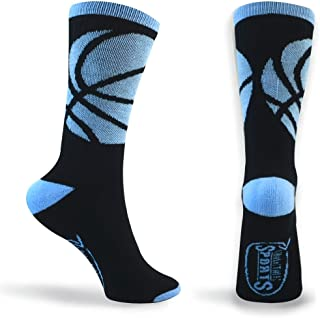 Basketball Sock by ChalkTalk SPORTS | Athletic Mid Calf Woven Socks | Basketball Wrap | Multiple Colors