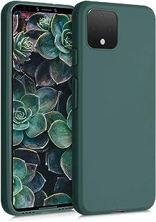 kwmobile Hülle kompatibel mit Google Pixel 4   Handyhülle   Handy Case in Tannengrün