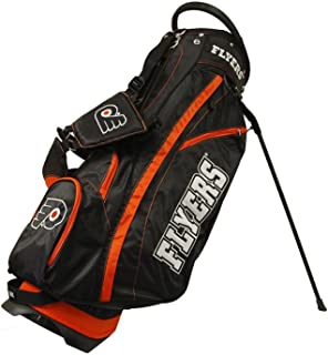 Team Golf NHL Fairway Golf Stand Bag, Lightweight, 14-way Top, Spring Action Stand, Insulated Cooler Pocket, Padded Strap, Umbrella Holder & Removable Rain Hood
