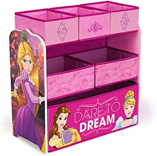 Delta Children 6-Bin Toy Storage Organizer, Disney Princess