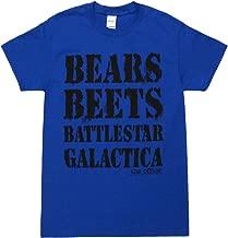 The Office NBC TV Series Bears Beets Battlestar Galactica Adult T-Shirt Tee