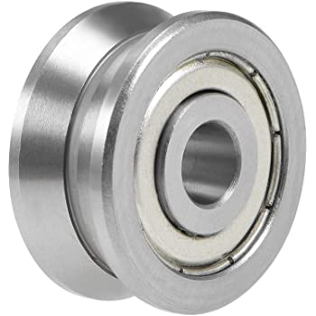 V-Type Groove Ball Bearing Steel 8x30x14mm for Cylindrical Guid