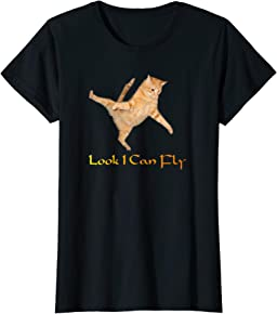 Flying Cat T-shirt