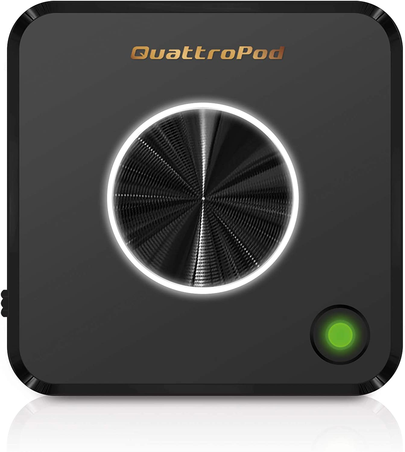 QuattroPod T01 Add-on Transmitter   5G WiFi Wireless Presentation Facility HDMI Transmitter & Receiver for Streaming 4K from Laptop, PC, Smartphone to HDTV/Projector