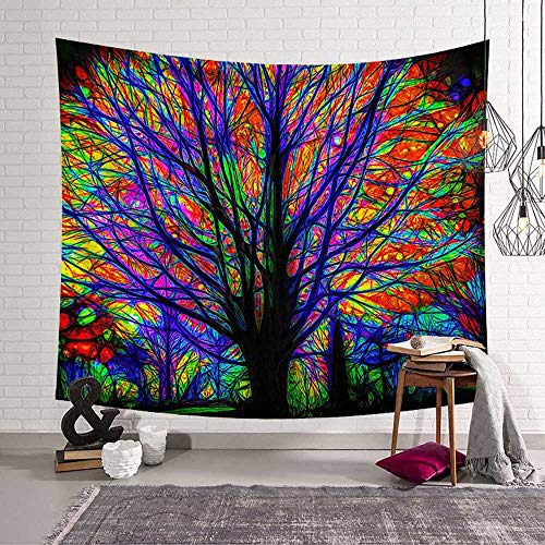 N / A Indian Mandala Tapestry Wall Hanging Sandy Beach Throw Rug Blanket Camping Tent Mattress Tapestries A6 200X150CM