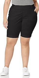 Jag Jeans womens Plus Size Gracie Pull on Bermuda Short Bermuda Shorts