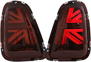 TopPick Taillights FOR Mini Cooper and S R56 R57 2011-2015 Red/Black 63217255913-63217255914-R