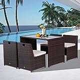 IMG-1 outsunny set mobili da giardino
