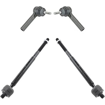 Lower Ball Joints Replacement for 200 Sebring Dodge Avenger Front Inner Tie Rods /& Boots 8pc Set Detroitaxle Sway Bar Links