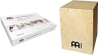 Meinl Percussion MYO-CAJ - Cajón de madera con parche natural, Kit Básico (Natural)