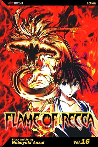 [Flame of Recca: v. 16] (By: Nobuyuki Anzai) [published: December, 2008]