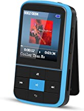 $29 » Clip MP3 Player, AGPTEK 16GB Bluetooth MP3 Player with Sweatproof Silicone Case and Sport Armband, Support FM Radio, FM Re...