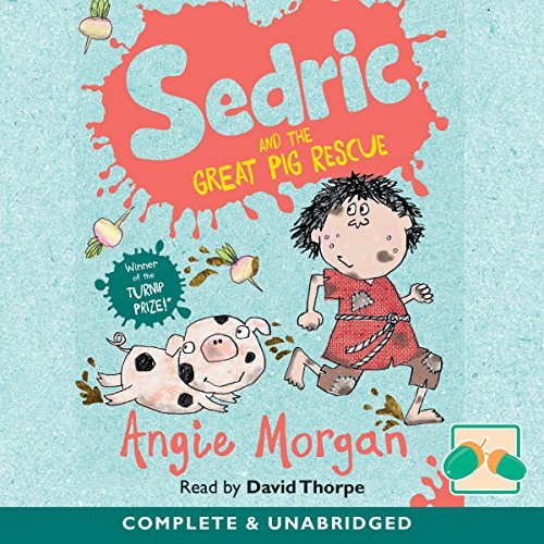 Sedric and the Great Pig Rescue audiobook cover art
