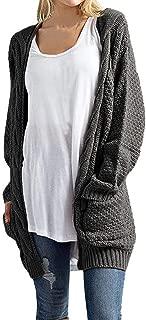 Knitwear Cardigan Women's Long Sleeve Open Front Sweaters Casual Outerwear