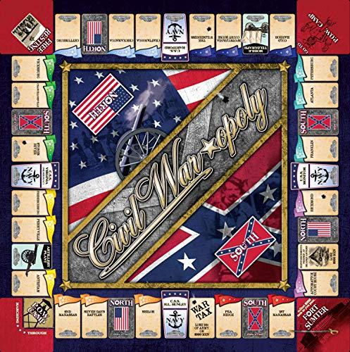 Civil War Monopoly Game