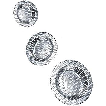 Guilty Gadgets Protector de filtro de desag/üe para desag/üe de hojas 2 unidades