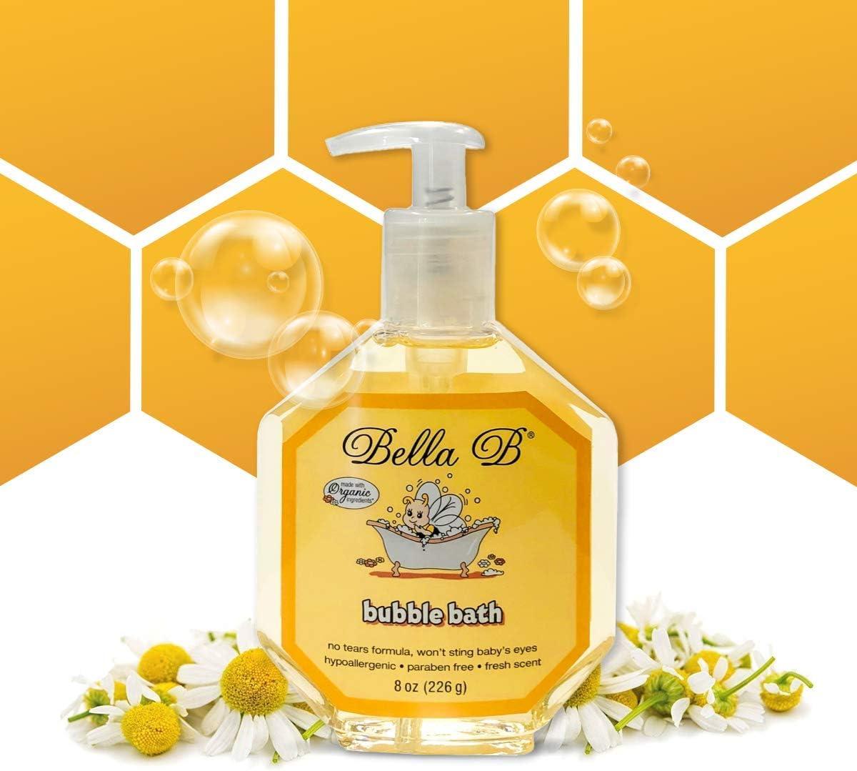 BELLA B Bubble Bath for Baby - oz service f Kids Organic Luxury 8