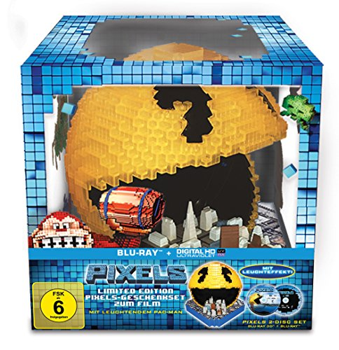 Pixels (Pacman Cityscape) [3D Blu-ray] [Limited Edition]