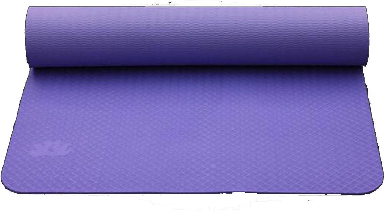 Shuang Yu Zuo Einseitige Sport Fitness Yoga-Matte,lila