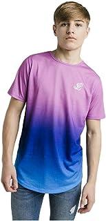 Illusive London Camiseta Niño Fade Rosa y Azul