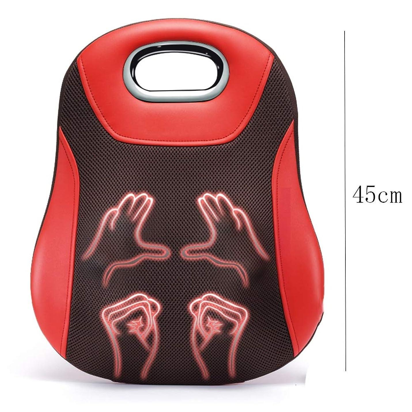 笑パブかどうかマッサージクッション - 首のウエストバックヒップチャージスマートワイヤレス用ホームオフィスカーマッサージクッションマッサージクッション付き熱