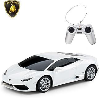 RASTAR Lamborghini HURACÁN LP610-4 RC Car Radio Remote Control, 1/24 Scale (White)