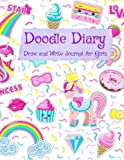 Doodle Diary: Draw and Write Journal for Girls (Jumbo Size Journal for Girls)