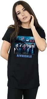 Riverdale Women's Diner Poster Boyfriend Fit T-Shirt