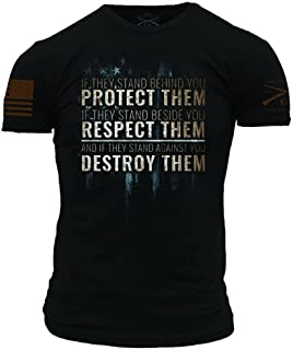 Grunt Style Protect, Respect, Destroy Men's T-Shirt