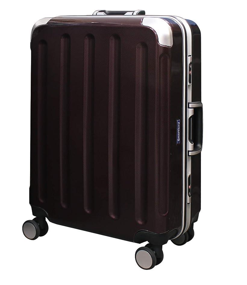 茎おばさんペレット[1260]スーツケース 深溝フレームタイプ 高品質ボディ 計8輪 Wキャスター TSAロック キャリーケース トランク 旅行用 キャリーバッグ 1260
