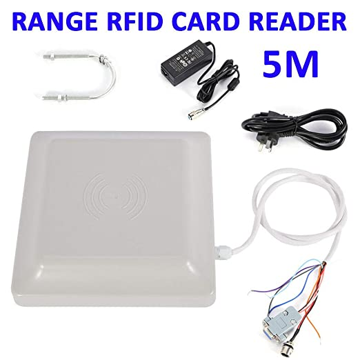 IP65 UHF RFID 3-10 meters Long Range Card Reader Parking System Access Control