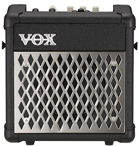 VOX Mini5 Rhythm Battery-Powered 5W Modeling Amplifier with Rhythm, Black