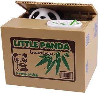 Txyk Mignon Voler Noir et Blanc Panda Pi/èce de Monnaie Tirelire Piggy Banque de Rangement