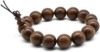 Unisex Natural Silkwood Tibetan Buddhism Meditation Prayer Bead Necklace Japa Mala Beads Bracelets