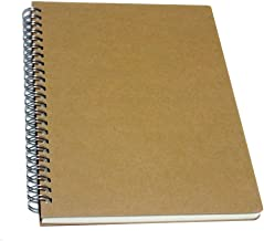YUREE Spiral Notebook/Spiral Journal, Hardcover Spiral Lined Notebook, 140 Pages (70 Sheets) with Wide Ruled, A5, 8.4