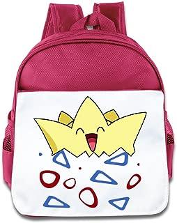 XJBD Custom Personalized Pocket Togepi Children School Bag Backpack For 1-6 Years Old RoyalBlue
