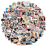Pop Band Stickers One Direction Stickers for Hydro Flask,   100 PCS   Vinyl Waterproof Stickers for Laptop,Skateboard,Water Bottles,Computer,Phone, Cute Anime Stickers (One Direction)