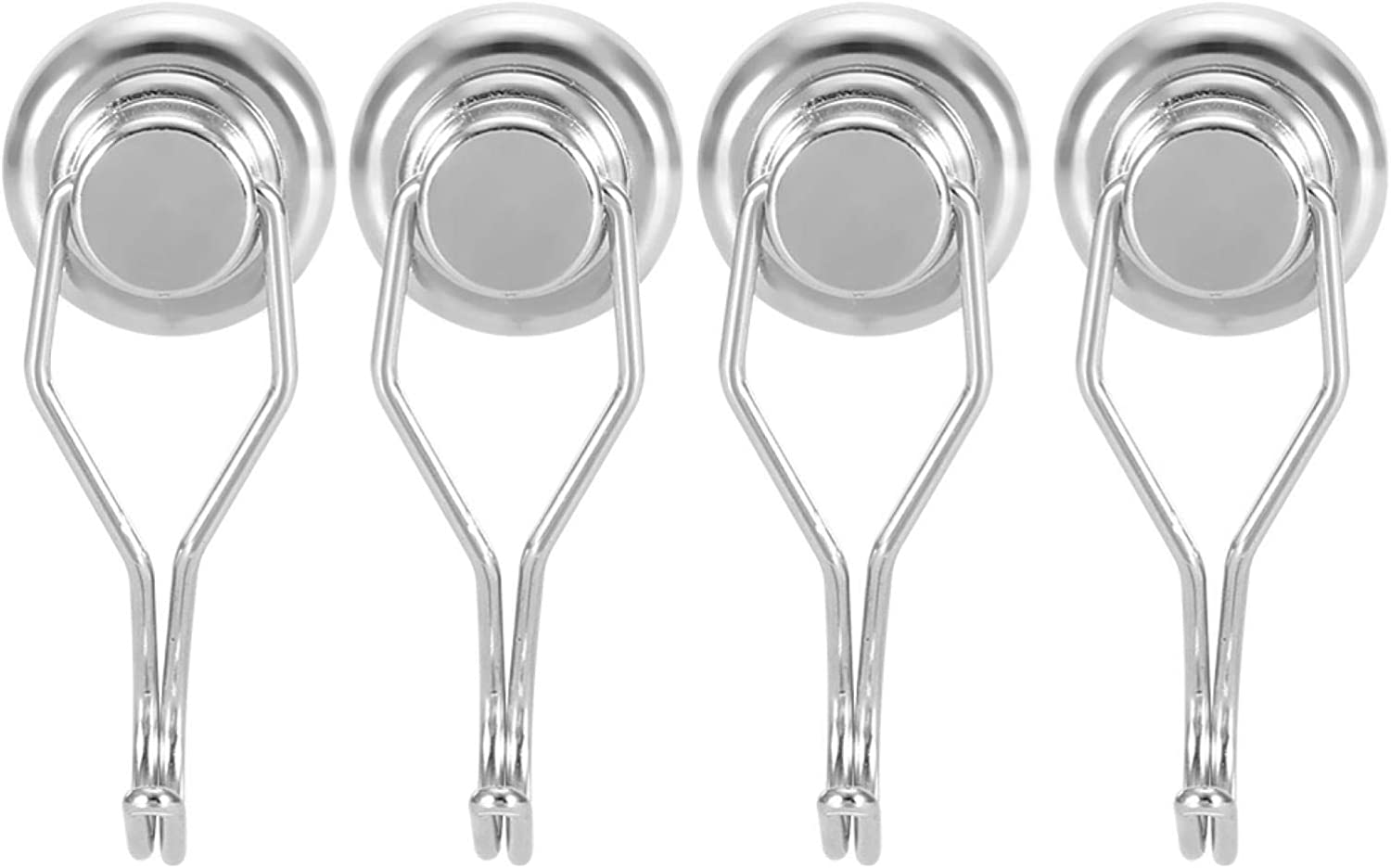 Max Large special price !! 58% OFF Swivel Magnetic Hooks Multifunction Rotating Steel 4Pcs Head A3