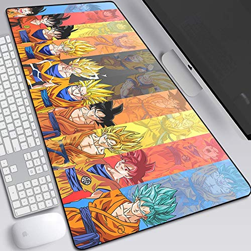 Anime MUZJOYMouse Pad Gamer Notebook MUZJOY MUZJOY for Boys Gaming Large Computer Mousepad 900x400mm Mouse MUZJOY-DBZ 2-90x40cm