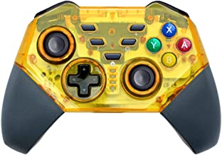 BestOff Wireless Controller for Switch Pro Gamepad Dual Motor Dual Vibration Shock Joystick for Switch/PC