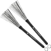 MEINL Stick & Brush マイネル ブラシ STANDARD WIRE BRUSH ラバーグリップ SB300 【国内正規品】