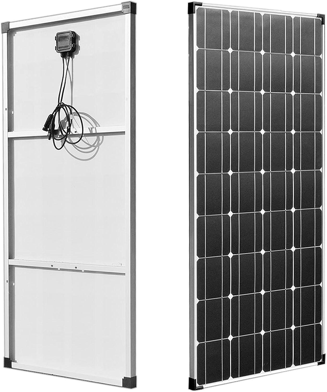 ZhuFengshop Panel Solar 18V 120W - 600W PANELEE SOLARE 12V 24V 36V 360W Cargador de batería de células Placa Solar Fotovoltaica Off APLICACION (Color : 120W Solar Panel)