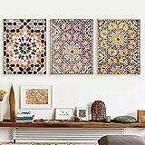 Oriental Arabic Canvas Art Painting Moroccan