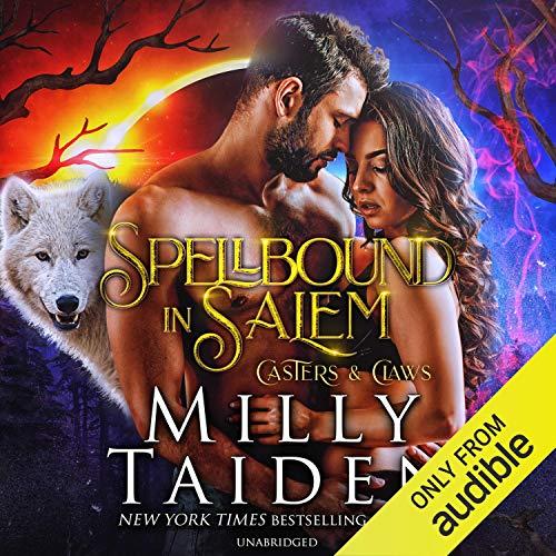 Spellbound in Salem audiobook cover art