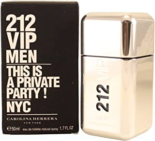 Perfume Masculino Carolina Herrera 212 VIP For Men 50ml EDT