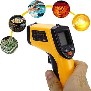 Deniseonuk Num/érique LCD Mini Thermom/ètre Infrarouge Thermom/ètre M/ètre Testeur Rouge Laser Poche Non Contact Pyrom/ètre Stylo M/énage