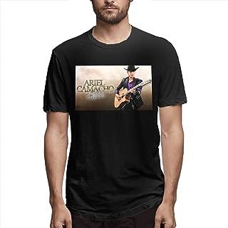 Men's Classic Solid Ultra Soft Cotton Crew Neck Camacho-Ariel- T-Shirt Multipack